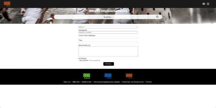 888Sport Kundenservice