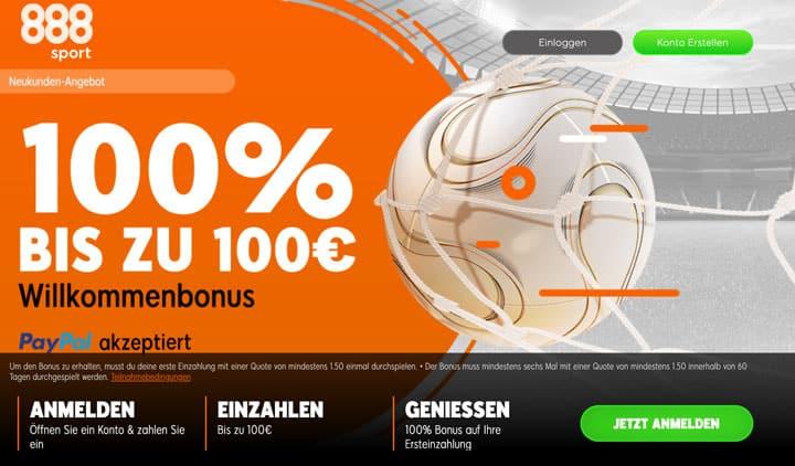 888Sport Bonus 2020