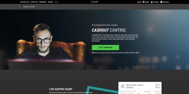 Neo.Bet Cashout